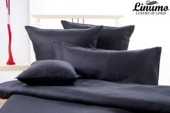 Pillow Cover ALTMUEHL 100% Linen Black Different Sizes