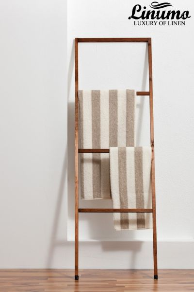 Bath-towel from lines frotté striped different sizes