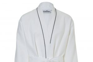 Bathrobe 100% Linen White Waffle various sizes