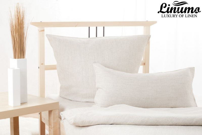 Bedding Set ELBE 100% Linen natural 2PC