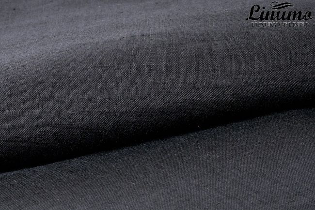 Bedding Sheet ALTMUEHL 100% Pure Linen Black 150x250cm