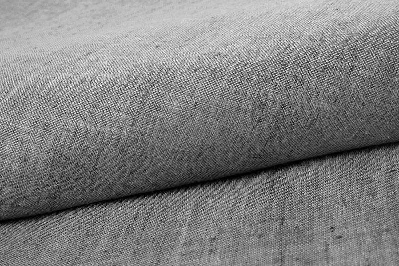 Bedding Sheet SIEG 100% Linen Anthracite 150x250cm