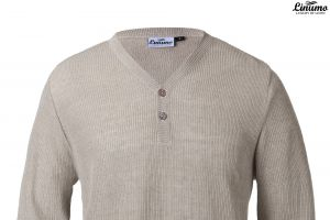 Exclusive Men's Sweaters Knitted Linen Button Down