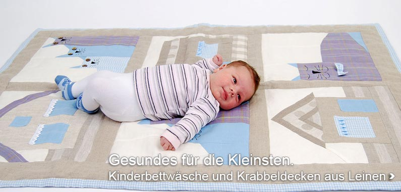 Linen Bedding for Children