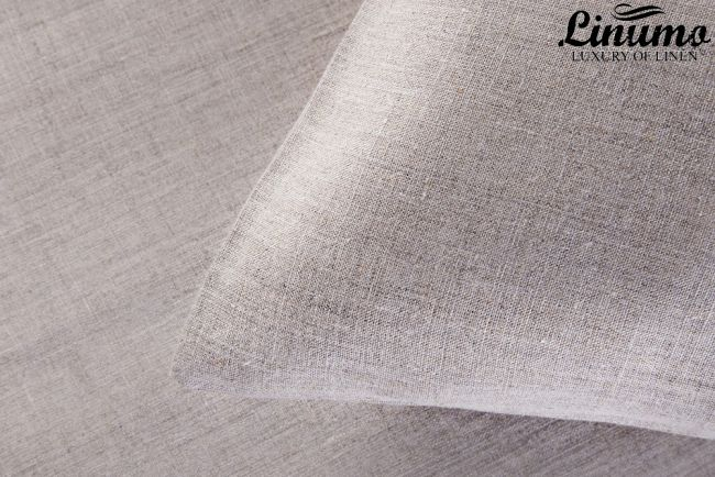 Pillow Cover DONAU 100% Linen Gray Different Sizes