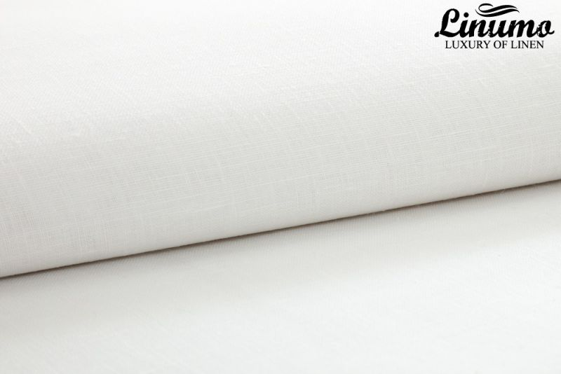 Pillow Cover LESUM Linen white with a black cord row Different S
