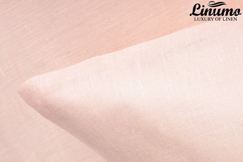Pillow Cover ODER 100% Linen Lightpink