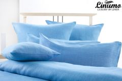 Pillow Cover SALZACH 100% Linen Türkis-Blau Different Sizes