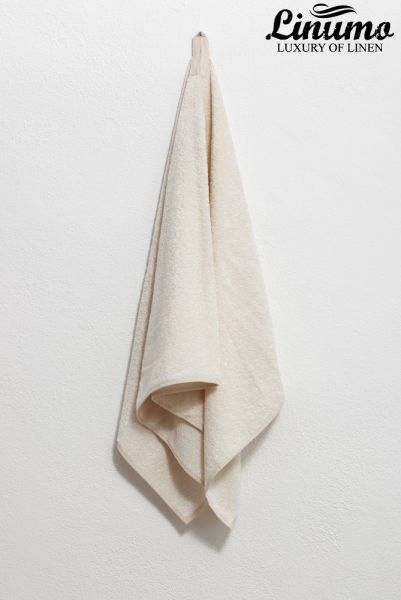 Rub Down Towel Linen White Different Sizes