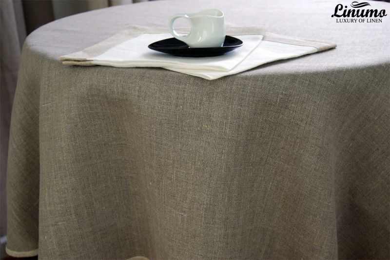 Tablecloth MAIN from 100% Linen Different Sizes